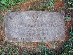 Gaston Barney Adams