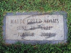 Maude <i>Creed</i> Adams