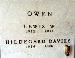 Hildegard Hilda <i>Davies</i> Owen