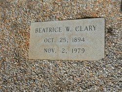 Beatrice <i>Workman</i> Clary