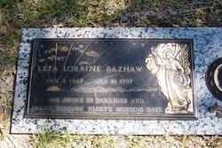 Leta Loraine <i>Little</i> Bazhaw
