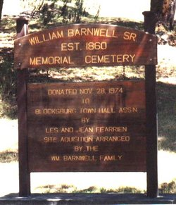 William Barnwell Sr. Memorial Cemetery