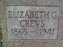 Elizabeth Lizzie <i>Garth</i> Crews