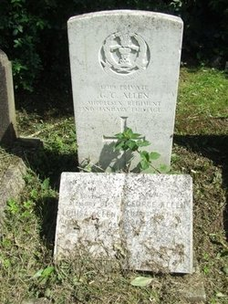 Private George Charles Allen