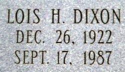 Lois <i>Horne</i> Dixon