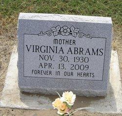 Mary Virginia Jean <i>Moody</i> Abrams