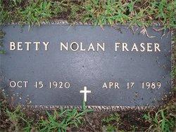 Elizabeth Betty <i>Nolan</i> Fraser