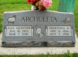 Juan Valentine <i>Garcia</i> Archuleta, Sr