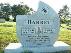 Exie <i>Carroll</i> Barret
