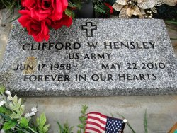 Clifford Woodrow Cliff Hensley