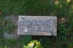 John Walter Bentsen