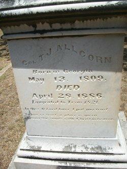 Col Thomas Jefferson Allcorn, Sr