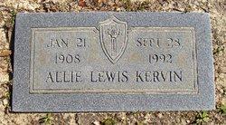 Allie <i>Lewis</i> Kervin
