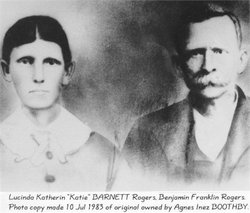 Lucinda Katherine Katie <i>Barnett</i> Rogers