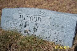 Betty Jo <i>Peirson</i> Allgood