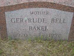 Gertrude M <i>Bell</i> Baker