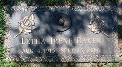 Letha Irene <i>Dysart</i> Baker