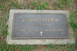 Donald Ray Crow