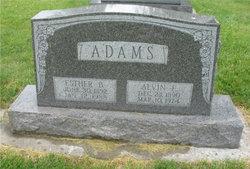 Alvin E Adams