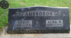 Alma M <i>Holland</i> Ambroson