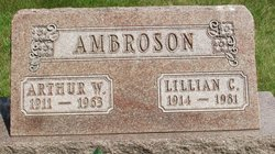 Lillian C <i>Holstad</i> Ambroson