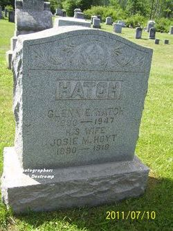 Josie M <i>Hoyt</i> Hatch