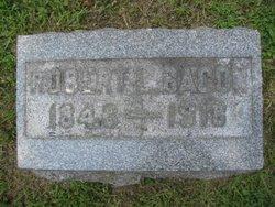 Robert L Bacon