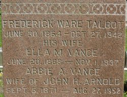 Abbie A. <i>Vance</i> Arnold