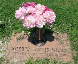 Mildred <i>Barnes</i> Wilson