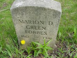 Marion Dearborn Green <i>Root</i> Forbes