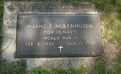 Duane E. Ackenhusen