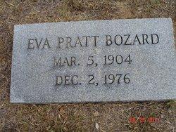 Eva <i>Pratt</i> Bozard