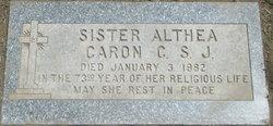 Sr Althea Caron