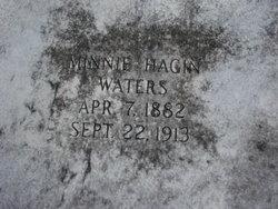 Minnie <i>Hagin</i> Waters