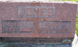 Mary Louisa <i>Garver</i> Jones