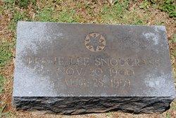 Bessie Lee Snodgrass
