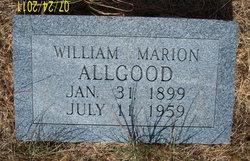William Marion Allgood