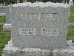 Cora Alice <i>Gillman</i> Allison