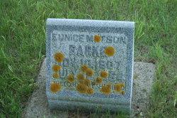 Eunice <i>Matson</i> Barke