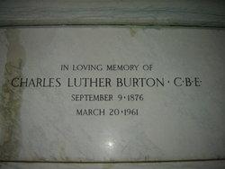 Charles Luther Burton