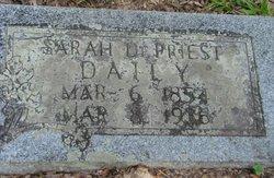 Sarah <i>DePriest</i> Daily