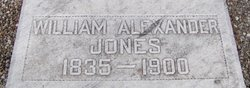 William Alexander Alex Jones