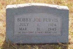 Robert Joseph Bobby Joe Purvis