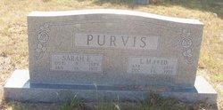 Sarah Ellen <i>Reed</i> Purvis