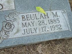 Beulah Mae <i>Buckelew</i> Moss