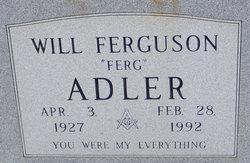 Will Ferguson Adler