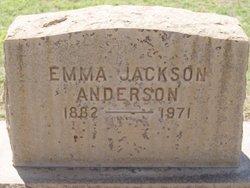 Emma <i>Jackson</i> Anderson