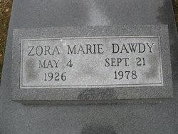 Zora Marie <i>Gast</i> Dawdy