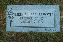 Virginia <i>Harr</i> Brewster