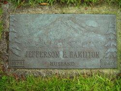 Jefferson Elwood Jeff Hamilton